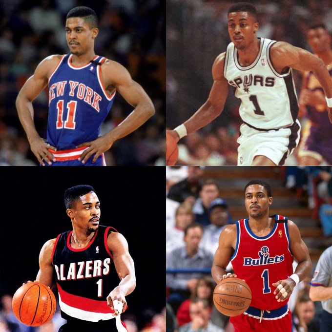 Rod Strickland.  «Hot Rod» know how to play basketball ! Happy Birthday !
