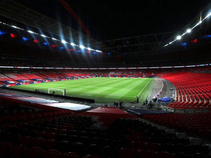 Empty #Wembley waits for @EURO2020 party postponed by #coronavirus    Read: https://t.co/Hs4vxFDPaY   #euro2020 #CoronavirusPandemic #CautionYesPanicNo https://t.co/rVYHtrbayl