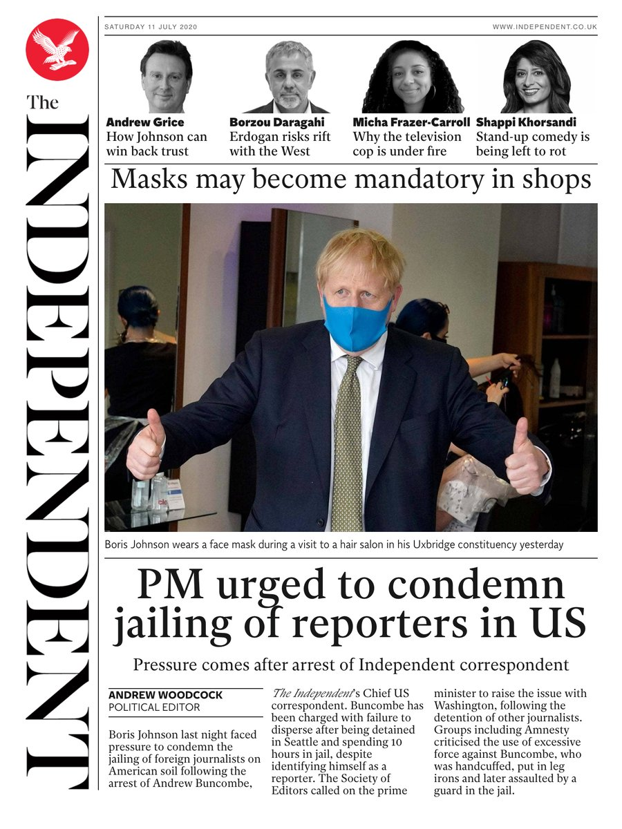 Tomorrow's @independent front page #tomorrowspaperstoday To subscribe to the Daily Edition independentsubscriptions.co.uk