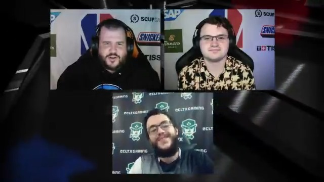 Finally in the win column! @_oFAB talks to @ScottColeShow and @Dirk_JDR about tonights long-overdue @CLTXGaming W and his big night on the sticks. 🕹️