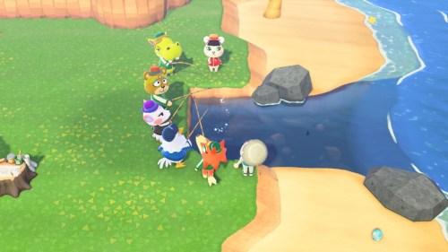 【あつ森】川全部潰してる島の釣り大会クッソワロタwwwwwwwwwwwww