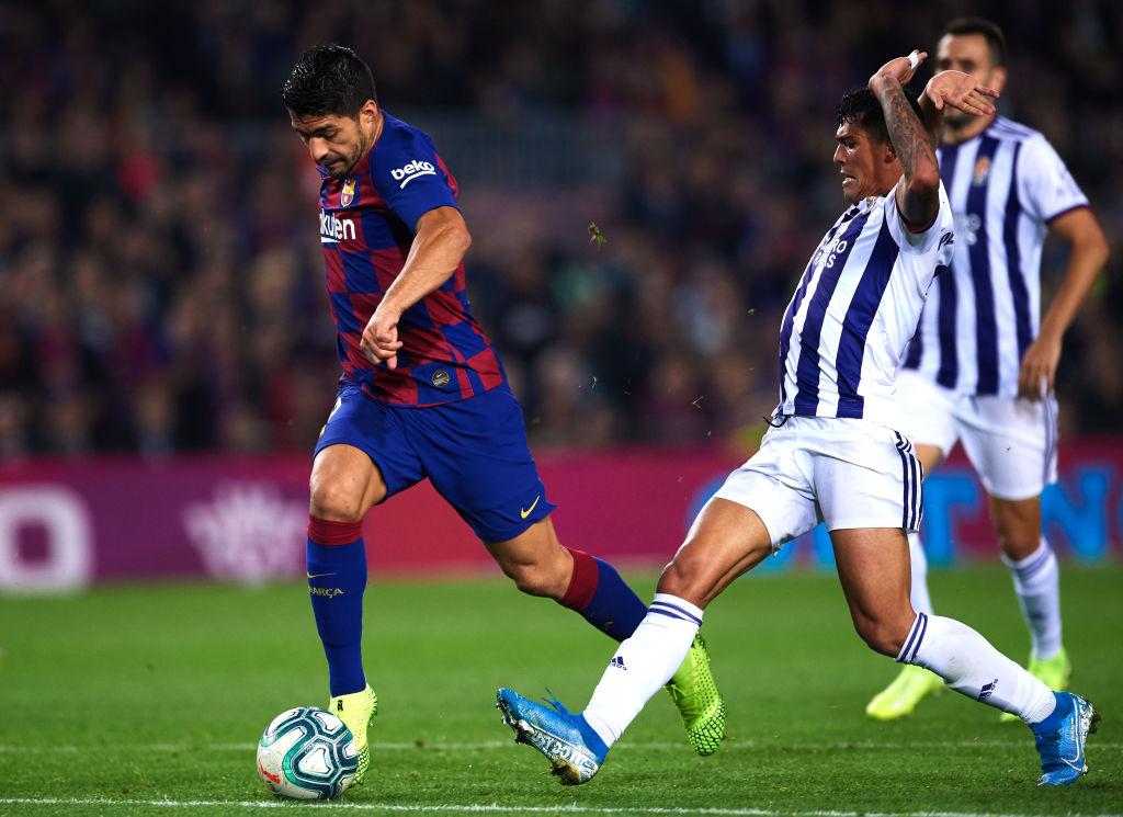 #ElAlargue  Liga de España 🇪🇸  ⚽ Osasuna vs Celta de Vigo ⌚ 10:00 am  ⚽ Real Valladolid vs Barcelona ⌚ 12:30 pm  ⚽ Atlético de Madrid vs Real Betis ⌚ 3:00 pm  https://t.co/CPg9SK2aFr https://t.co/6IahphfIop