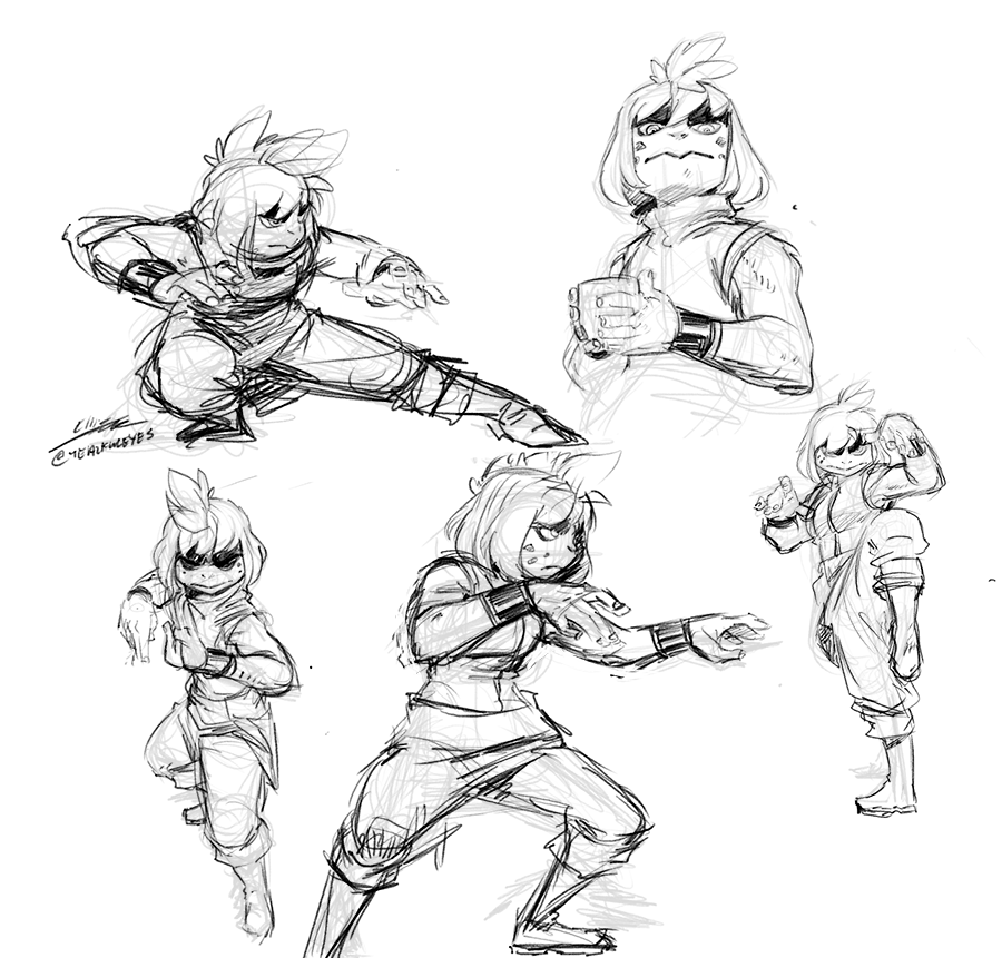 A few #sketches to cool down with before calling it a night.