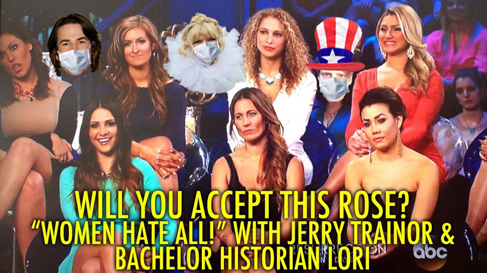 We dropped another Will You Accept This Rose? ep where we are continuing #JuanPablo's #Bachelor season! @ArdenMyrin @kt_money and I are joined by @jerrytrainor and @bach_lori! #WYATR listen here: rosepodcast.vodka/post/women-hat…