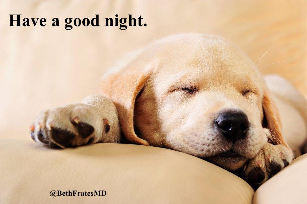 Have a good sleep. Shoot for 7-8 hours if possible. 🛌😴💤🙏 #goodnight #sleep #lifestylemedicine #health
