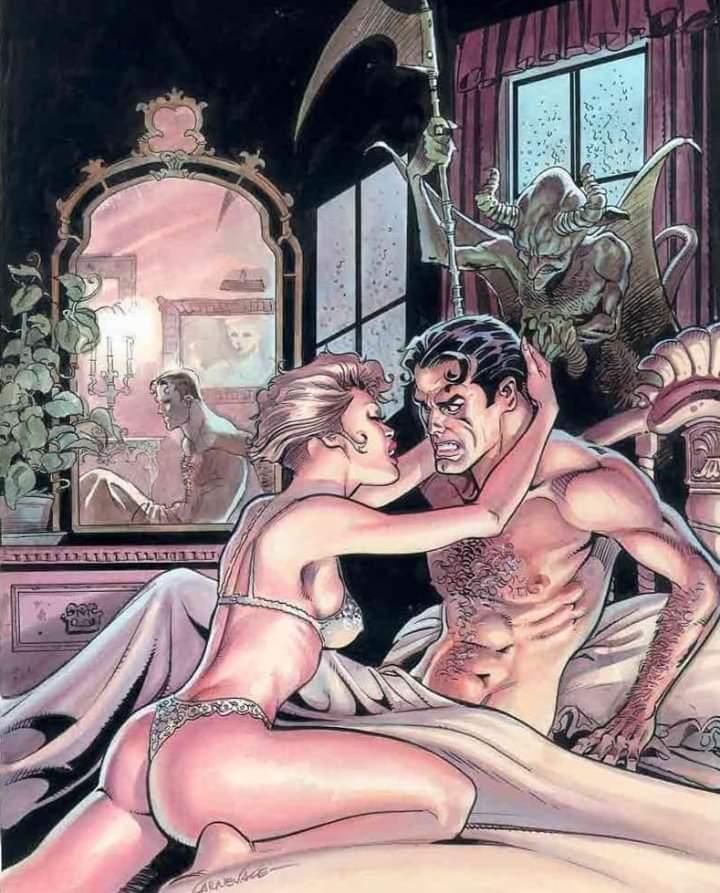 """Surprise Guest""   Massimo Carnevale.  #comicbook https://t.co/fpXkDc62Im"
