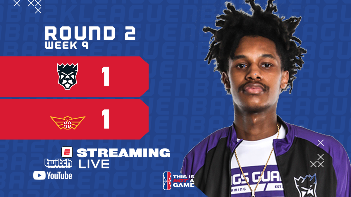 🎮 ROUND 2 FINAL 🎮 @KingsGuardGG 72 @HawksTalonGC 63 @MattRobles_: 35 PTS, 6 AST @BallLikeSeem: 11 PTS @DatBoyShotz: 6 PTS, 13 REB, 6 AST, 3 BLK Were all tied up and need a Round 3 to decide things!