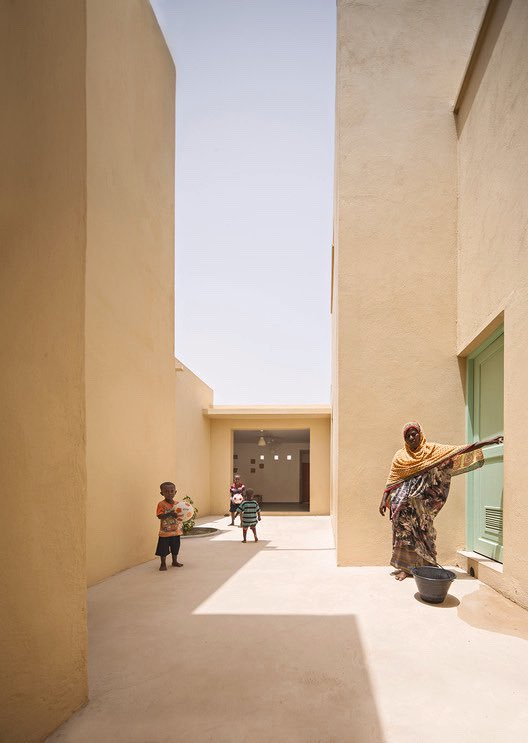 Djibouti. Love this architecture. Clean, airy