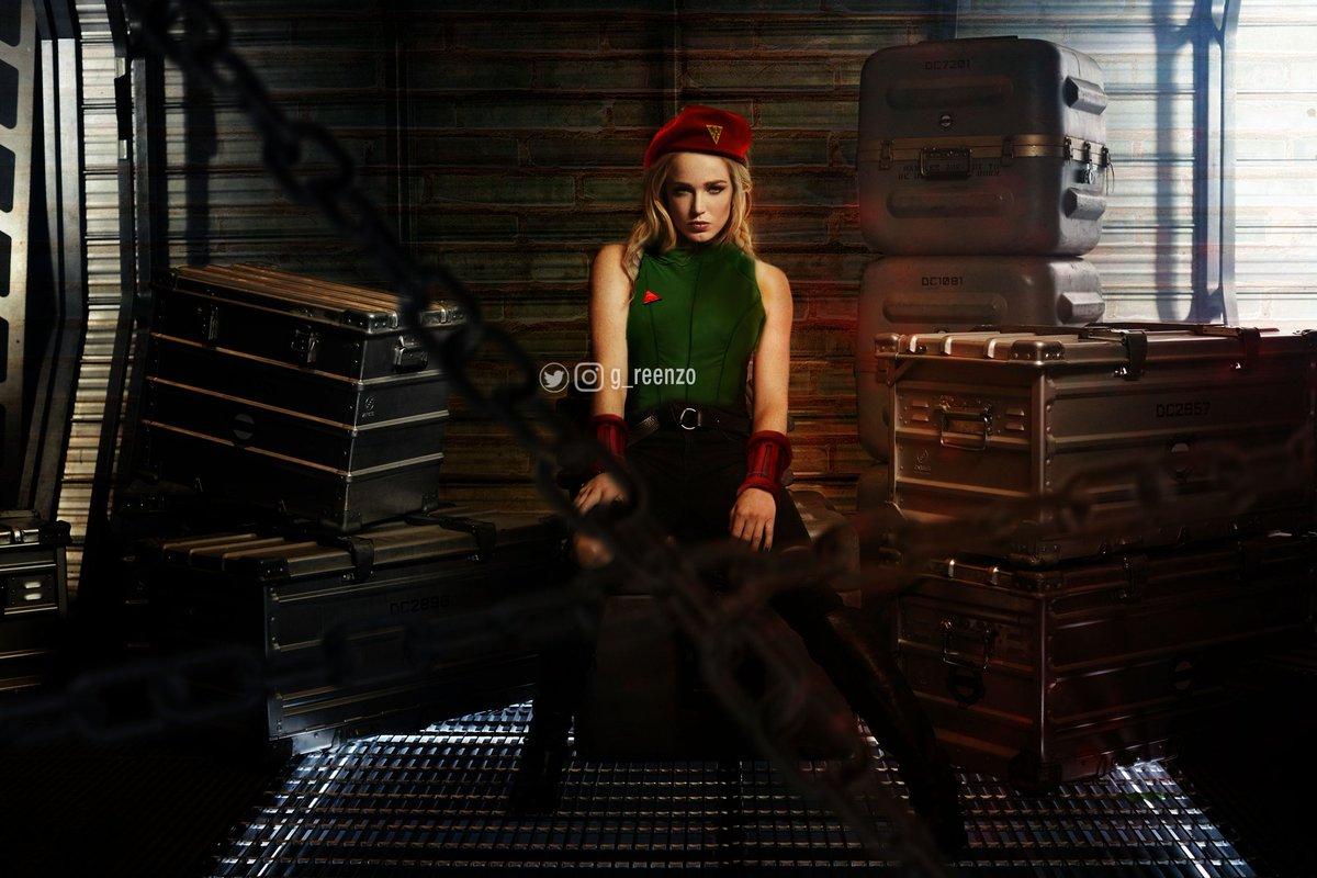 @caitylotz as Cammy.  @TheCW_Legends #edit #cw #streetfighterv #cammy #fanmade #film #fancast #blonde #fighter #woman #girl #caitylotz #whitecanary #beauty #chains #arrow #LegendsOfTomorrow #ken #ryu #chunli https://t.co/SytvaPlfkd