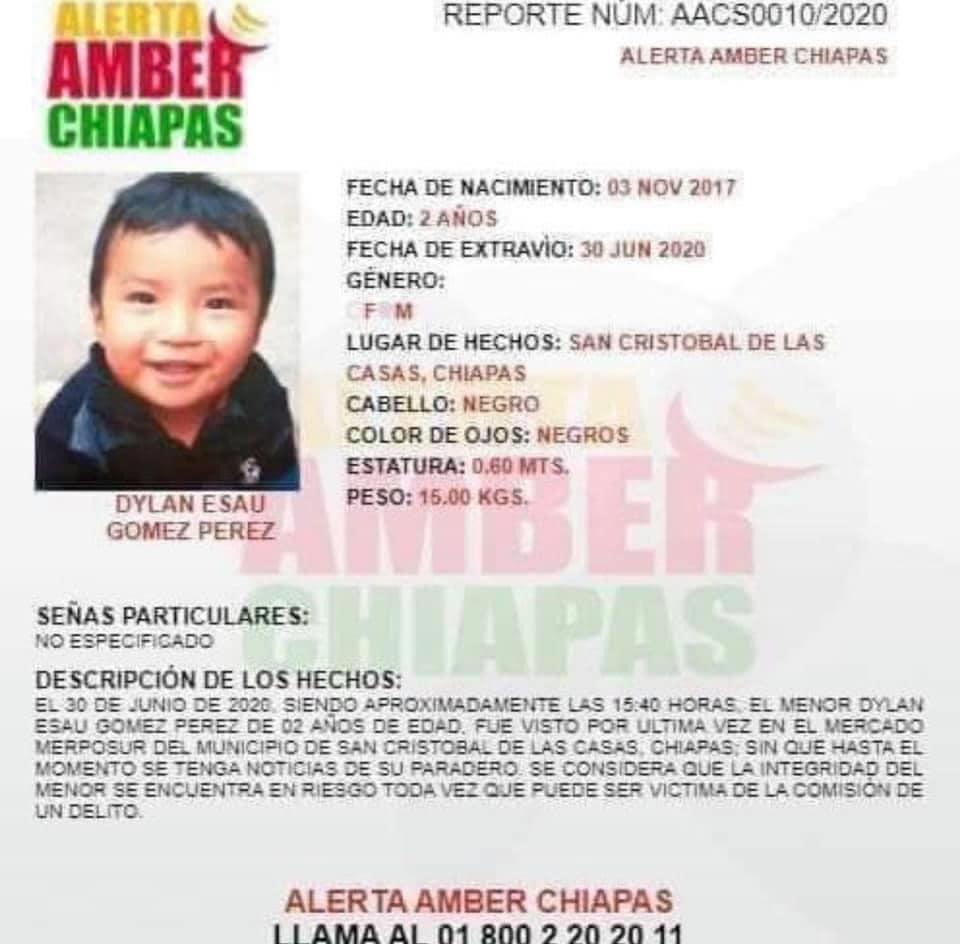 @mijisoficial ayúdanos con tu rt por favor, se busca, es de San Cristobal, Chis, muchas gracias de antemano. https://t.co/w8vOtuwURf