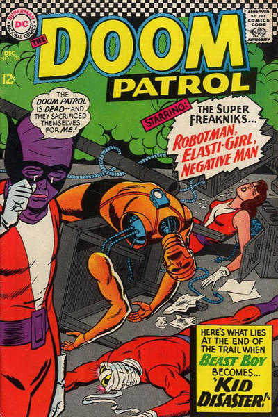 Tonight's #comicbook reading:  1966's Doom Patrol #108  2020's Justice League Dark #22  1980's Marvel Two-in-One Annual #5  2010's Blackest Night #8 https://t.co/EvRlOv0xI2