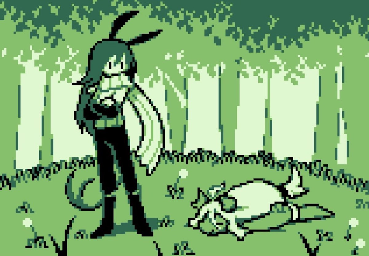 【ニュース】『Undertale』Temmie氏が手がけるRPG『Dweller's Empty Path』配信開始。兎耳の少女がファンタジー世界をさすらうドット絵ADV