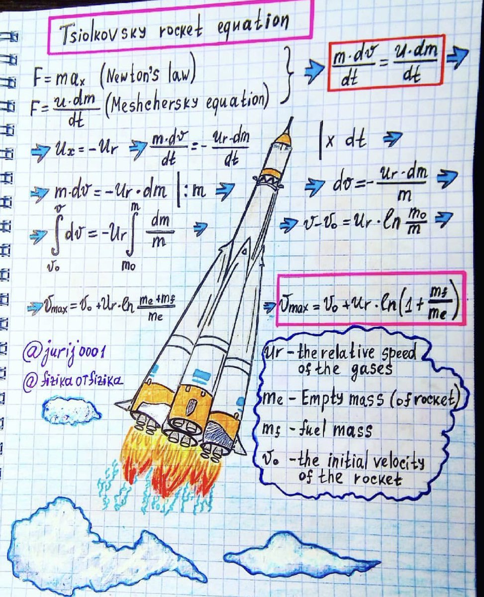When learning anything new.. taking notes reinforces memory 2-3× ! .. & w sweet highlights & diagrams, can take the place of some lectures .. even for #rocketscience ;-)   @elonmusk @SpaceX @NASAJPL @nasa