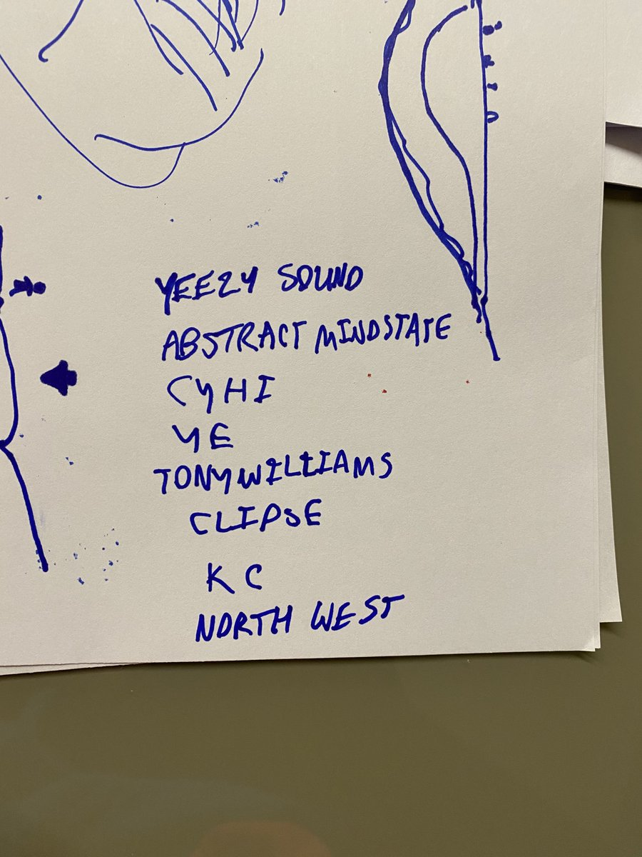 YEEZY SOUND ROSTER PROPOSAL https://t.co/RugGSTcY66