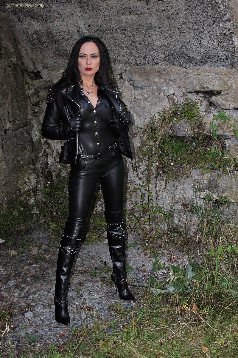 Nadja diva leather fasyen: