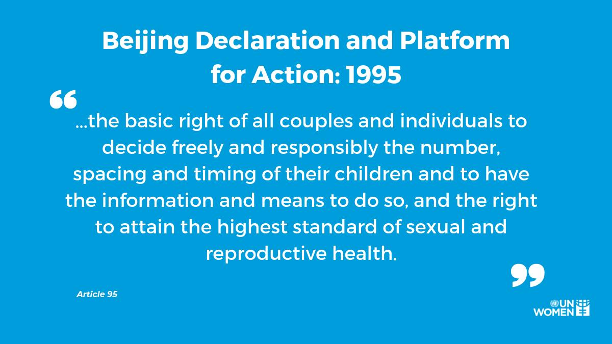 This #WorldPopulationDay, were calling for investments into sexual & reproductive healthcare services for all women. Are you with us? #GenerationEquality