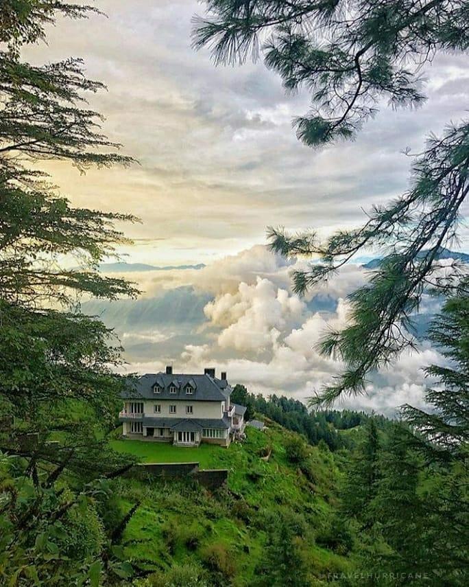 This is Beautiful House of Priyanka Vadara gandhi at Shimla Himachal Pradesh, I dont know how they grabbed this land? because any outsider of Himachal is not allowed to buy land at Himachal.