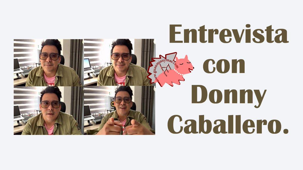 Entrevista con #DonnyCaballero @donnycaballero sobre #Morena , con quién le gustaría colaborar ( @JavierBeret @pabloalboran ...) , composiciones , #DragónYCaballero , @jeraucolombia , próximos proyectos y más https://t.co/6FRXf96Rom https://t.co/VZ3WNNK7fY
