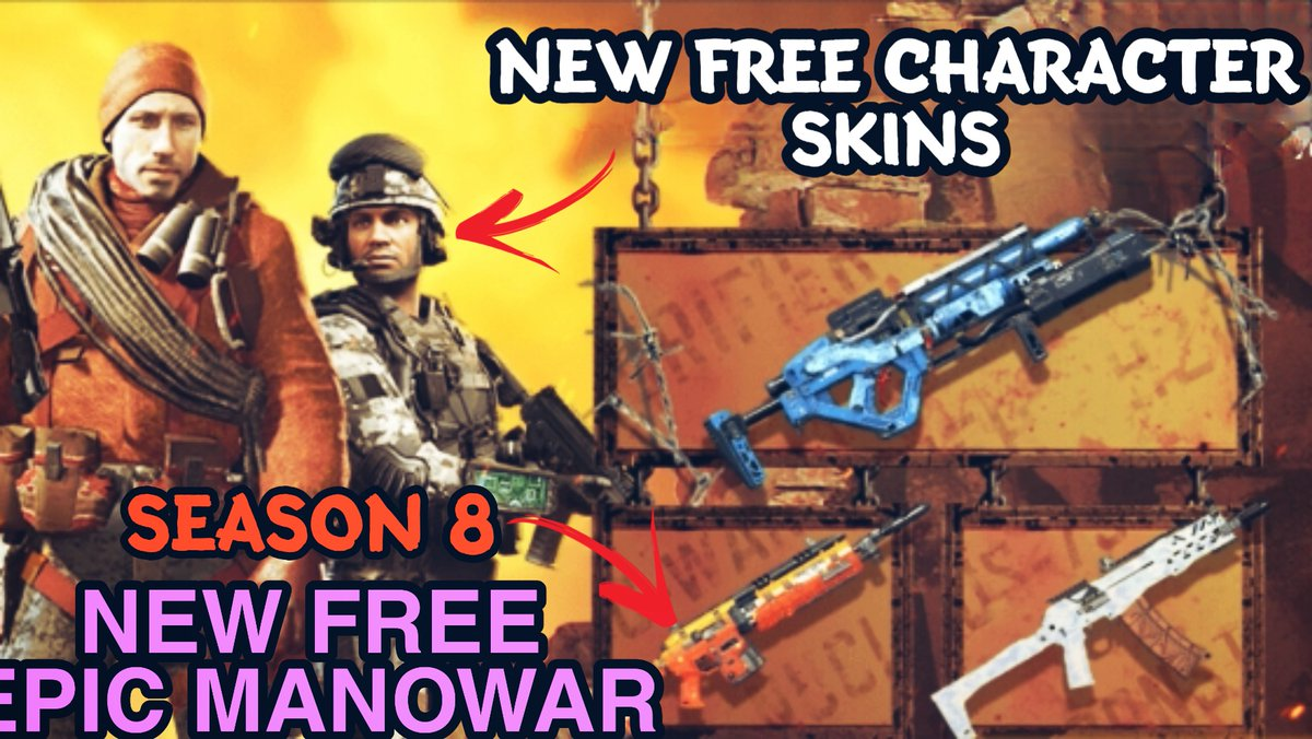 Call Of Duty Mobile A Twitter New Video Https T Co Zjvc1pyn8t New Season 8 Free Character Skins And Free Gun Skin Rewards New Solstice Awakened Event New Days Of Summer Event