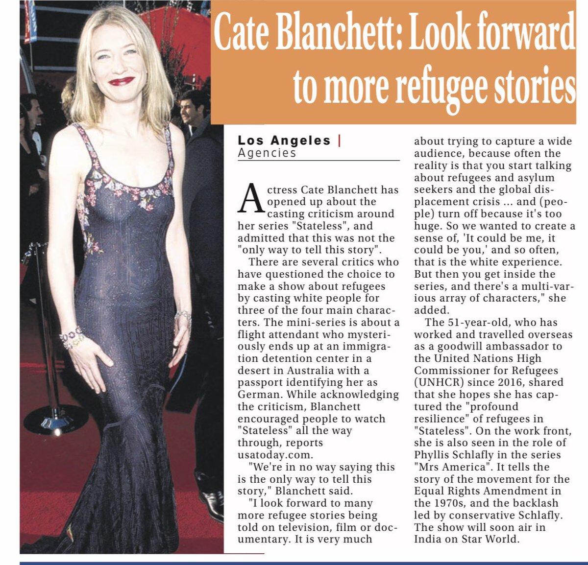 @CateBlanchettC #Hollywood https://t.co/4TH34DaPKK