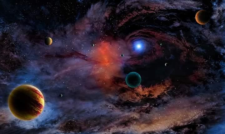 Somewhere in space #Fantasy pic.twitter.com/rZb46QMkmV
