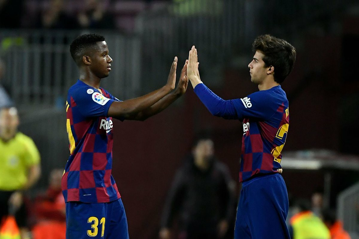 """Font: """"Our dream is to have a team made up mainly of players from La Masia. Only those players who clearly make the difference & who can fit into the side should be signed."""" https://t.co/lNtvitY2NZ"""