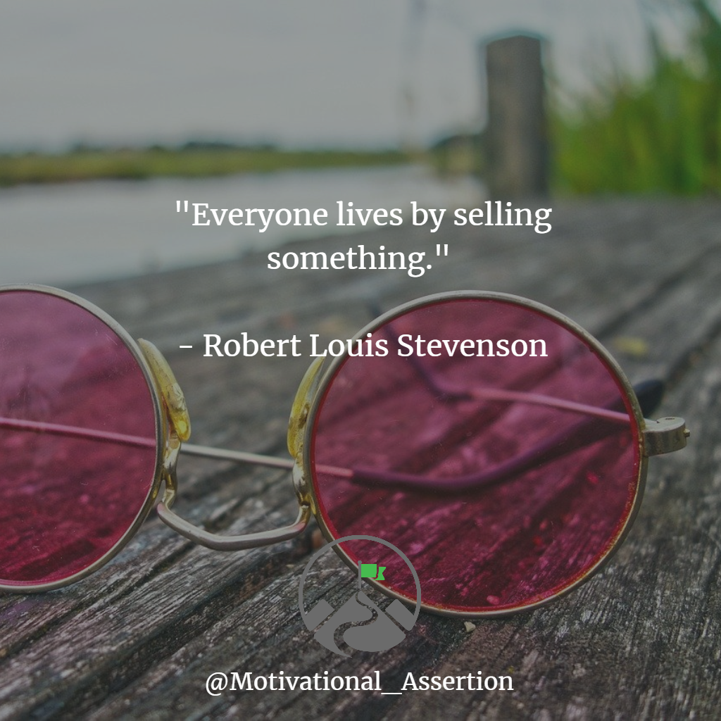 """""""Everyone lives by selling something""""  What are your thoughts?  #motivationalmindset #correctmindset #mentality #change #learningquotes #learningisimportant #timetochange #motivationdaily #personalgrowth #successmindsetpic.twitter.com/FBEC1d6dah"""