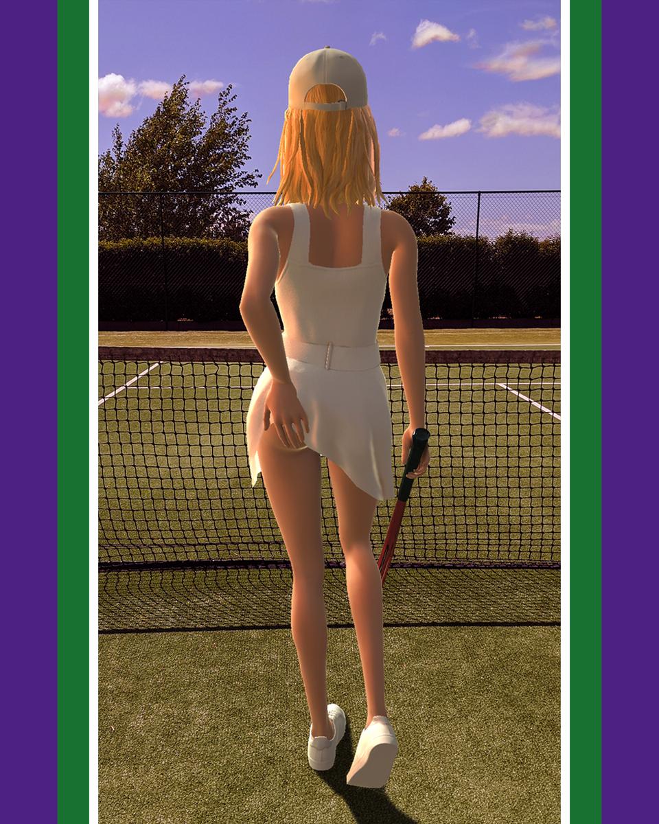 Amanda recreating the iconic Tennis Girl poster   #FashionAR #App #Fashion #AR #game #WimbledonRecreated #wimbledon #tennis #court #tenniscourt #racket #gamesetmatch #instasport #instatennis #grasscourt #model #tennisgirl #playtennis #fitnessgirl #Amanda #tennisplayerpic.twitter.com/Ci0GLboHLJ
