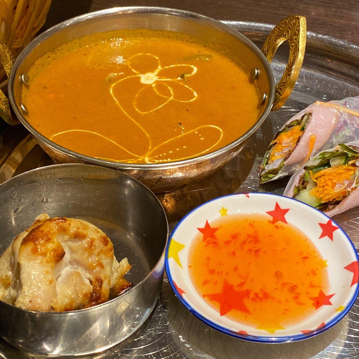 ナンカレーなう!(・‐・)ノ🍛✨から〜い!  #おそとごはん #eatout #restaurant #delicious #yummy #food #foodie #foodpics #foodgram #instafood #curry #ヤオナタ