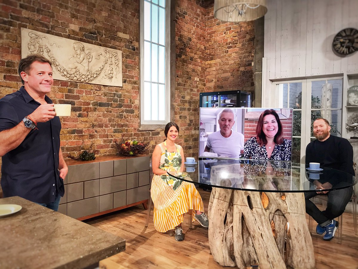 Huge thanks for watching this morning! 🥳  Thanks to @matt_tebbutt, @Brynwchef, @Olia_Hercules, @knackeredmutha and @realmartinkemp!   Don't forget Best Bites tomorrow at 10am on @BBCTwo and we're back live next Saturday at 10am!  #SaturdayKitchen https://t.co/dUpYEzvBB5