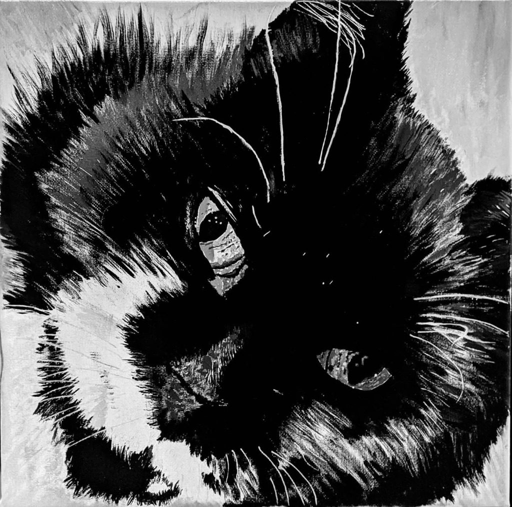 Decided to do a bit of painting this afternoon. It's my cat Tom! I did this one with acrylic on canvas.  #painting #art #artwork #cat #catsofinstagram https://instagr.am/p/CCf1IhmFOQY/pic.twitter.com/8N6wkXq0Hp