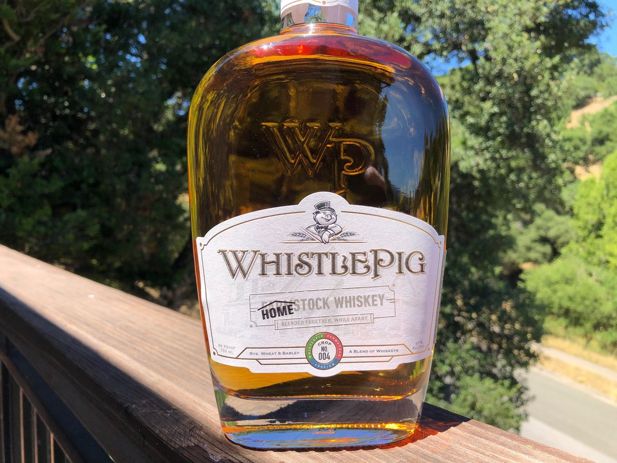 Review: WhistlePig HomeStock  #cocktails #dog