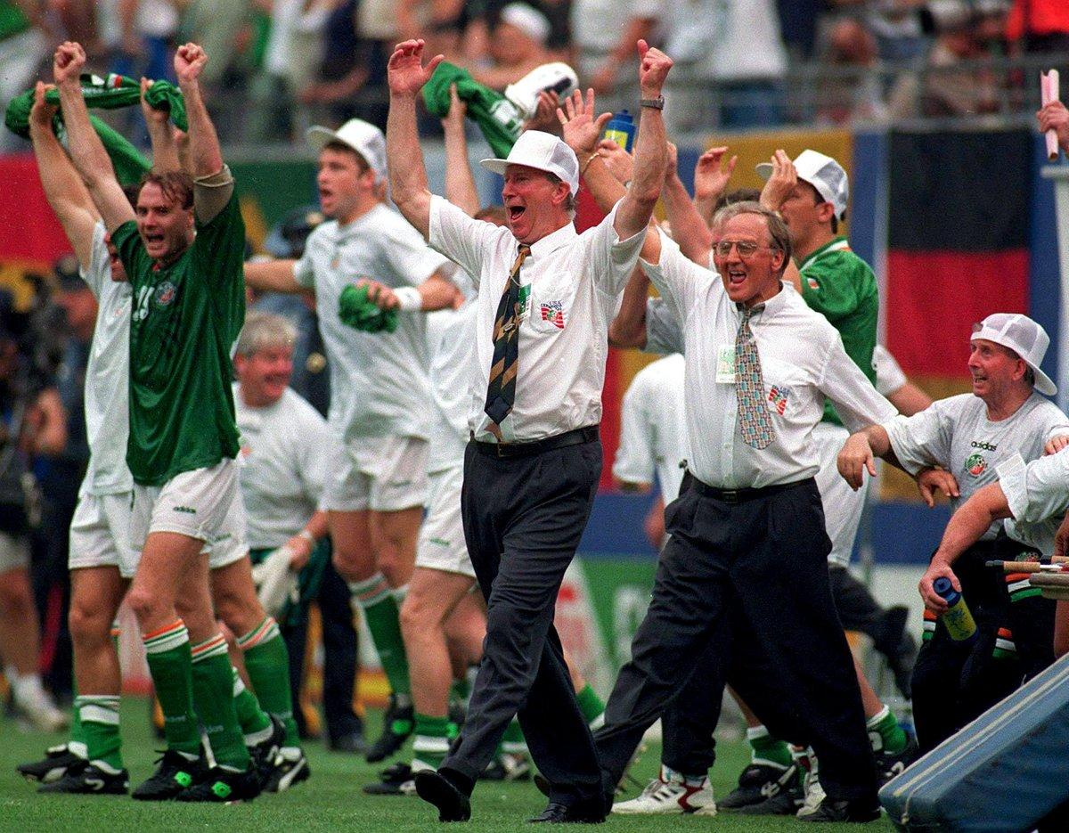 📸 18 June, 1994  FT 🇮🇪Ireland 1-0 Italy🇮🇹 https://t.co/0mJnvprqiQ