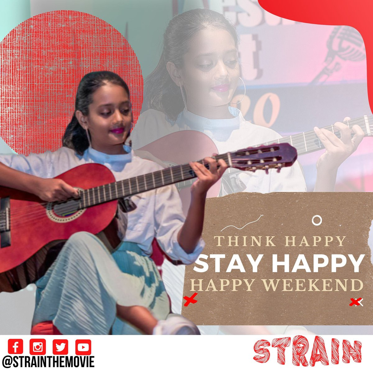 Make sure you think and stay happy!! because It's the weekend  .. Enjoy your weekend to the fullest .. .. #weekend #weekendvibes #weekendmood #weekendtime #familylife #familytime #familydrama #familyadventures #familypictures #entanglement #strainthemoviepic.twitter.com/9iRtauuX23