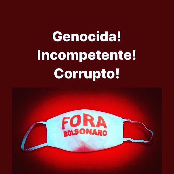Só pra lembrar que todo dia é dia de FORA BOLSONARO   Com ele não dá +!  Bom dia!!  #ForaBolsonaro  #pelobrasil  #pelasvidasbrasileiras https://t.co/4c4dKy73Bq