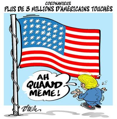 Ali Dilem [TV5Monde] (Samedi, 11 juillet 2020) #News #Actualité #Humour #Caricature #DZ #Algérie #Algeria https://t.co/JimlveVm4f