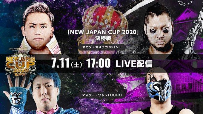 Cobertura: NJPW New Japan Cup 2020 – Final – Tudo é….