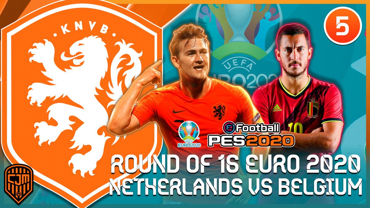 PES 2020 Netherlands EURO 2020   Belgium vs Netherlands, Drama Babak 16 Besar Di Amsterdam #5  🔗 https://t.co/lfiZF14Phb  #cjmfootball #EURO2020 #eFootballPES2020 https://t.co/mRmXAJp9rc