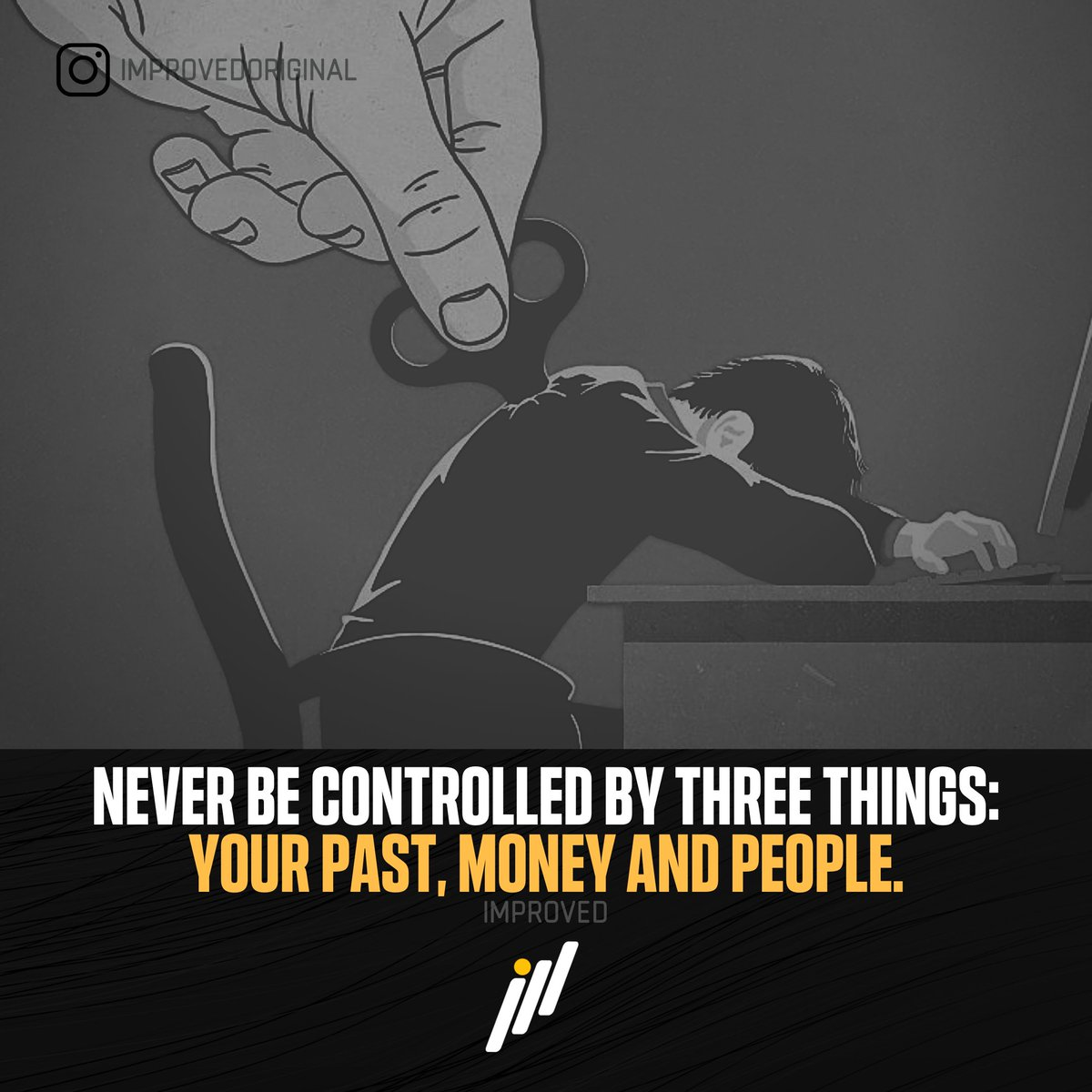 Do not allow any thing to disturb you!  More on our IG: https://www.instagram.com/improvedoriginal … #motivationalquotes #motivation #goals #mindset #instagram #inspiration #qoutes #positivevibes #positivityiskey #success #power #life #qoutesoftheday #motivation101 #moneyheist #successquotes #improvepic.twitter.com/OXrszJ7Ym0