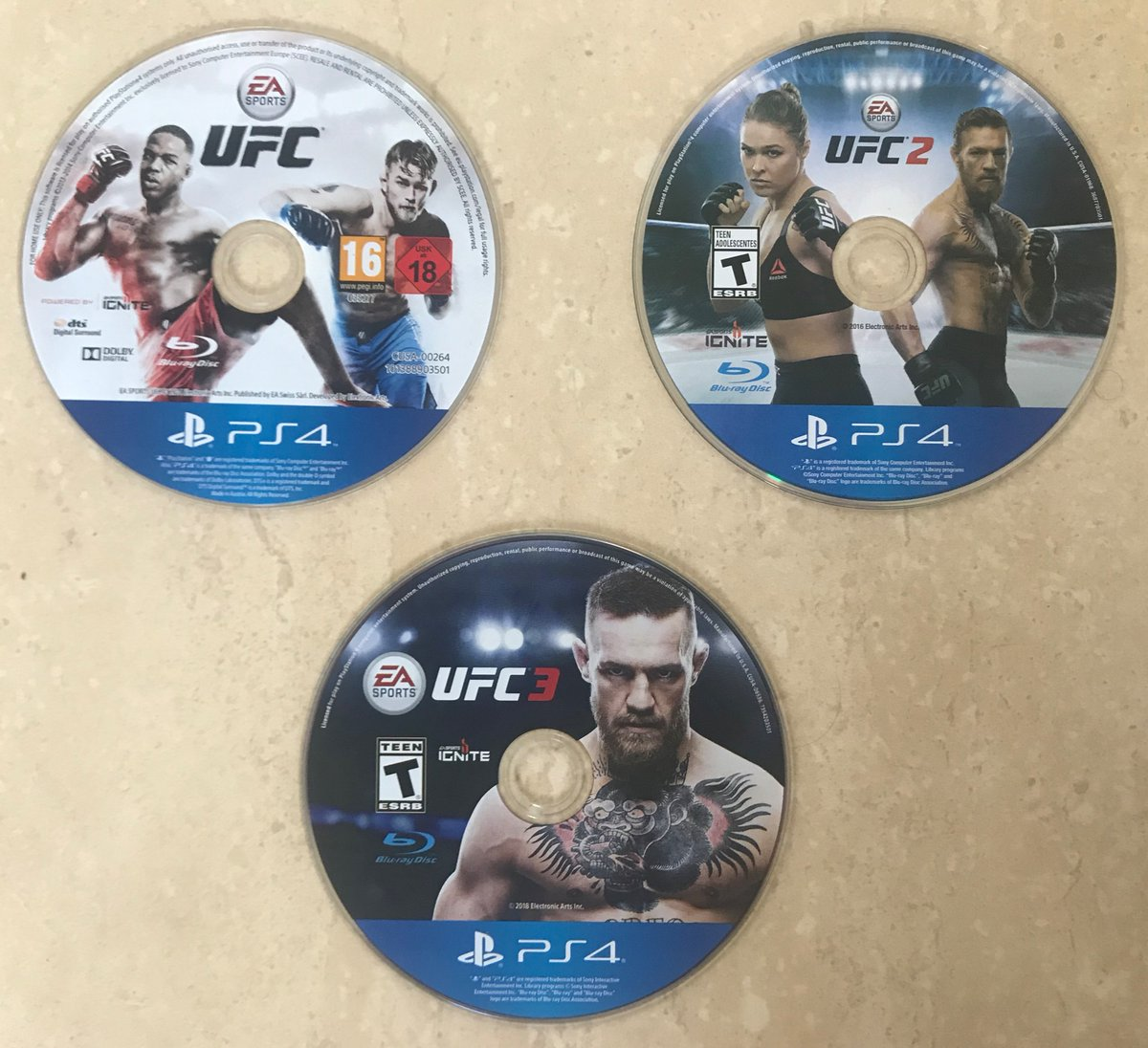 #UFC on PS4 I think things went from strength to strength in this series, what do you think? https://t.co/TJ1sitHLg5