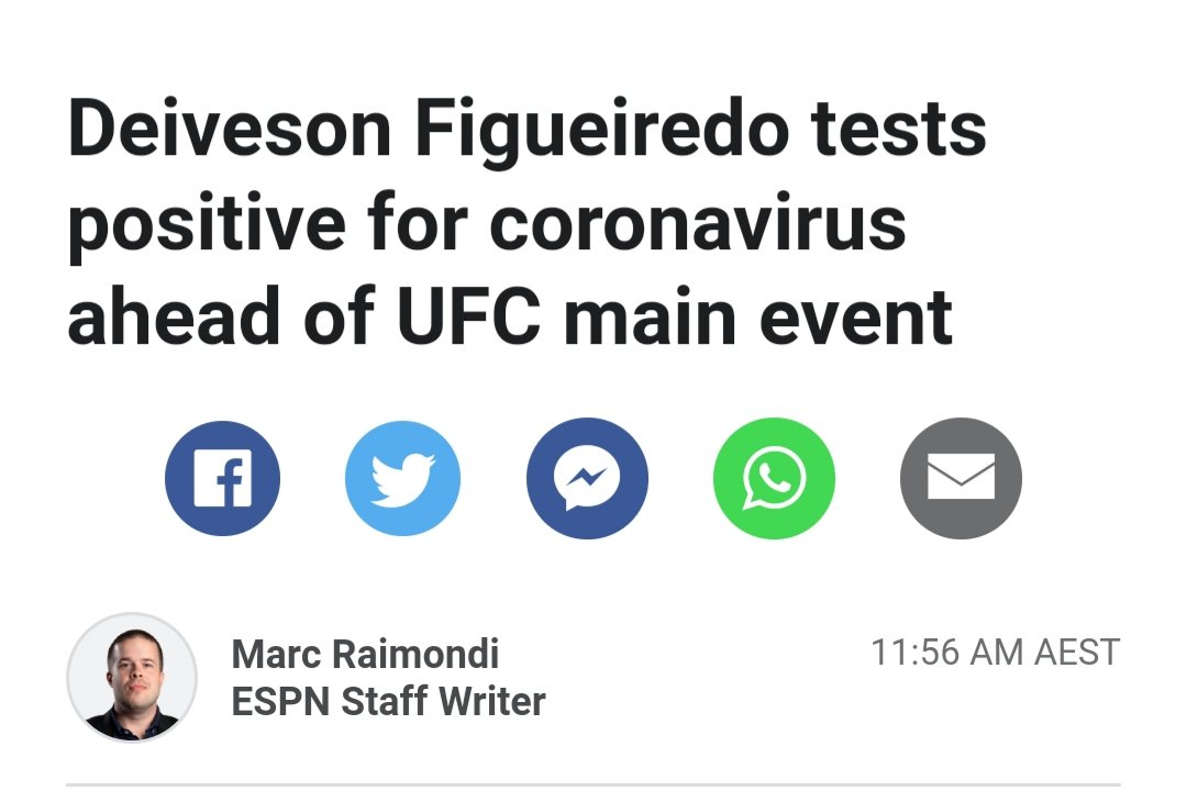 Breaking news!! Fight has not being scrapped as of yet. Hope they can still make this one happen #mma #ufc #news #MMATwitter https://t.co/mWGJjMXezT
