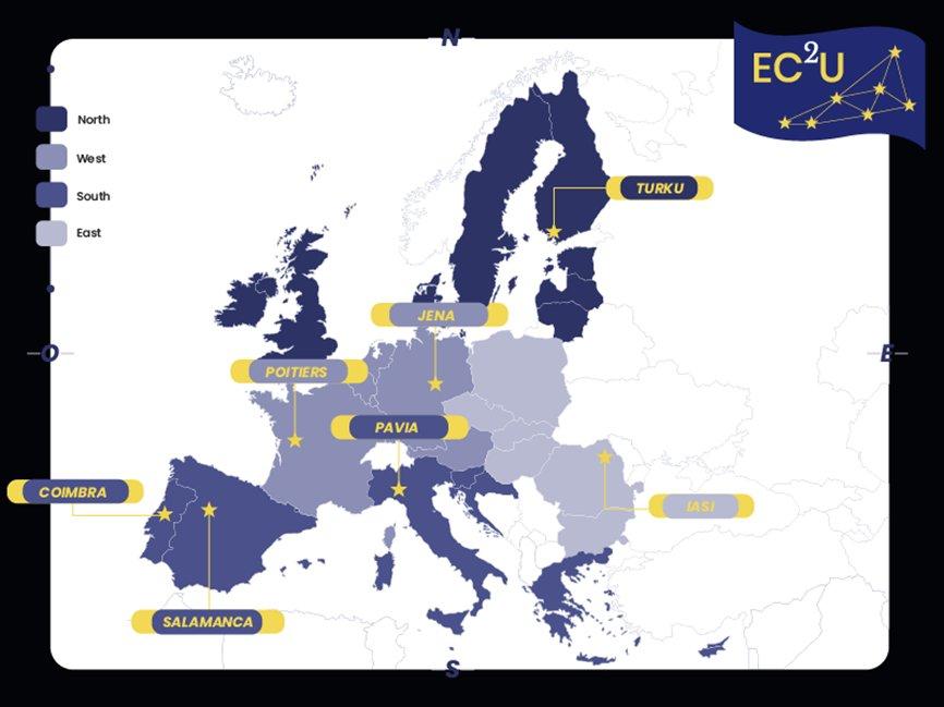 La Universidad de Salamanca, entre las siete universidades europeas que configurarán el 'macrocampus' Europeo de Universidad Urbanas.  👉 https://t.co/S76tKTy9Zr https://t.co/IIhWKeA5hj