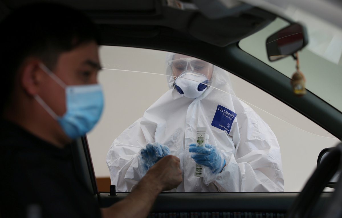 """#Kazakhstan should quickly identify any new viral pathogen by expanding its testing capability: leading Chinese experts said Saturday suggesting a reported """"unknown pneumonia"""" in the country is most likely #COVID19. https://t.co/LrZD3c1ifB https://t.co/pEClyZr3Zk"""