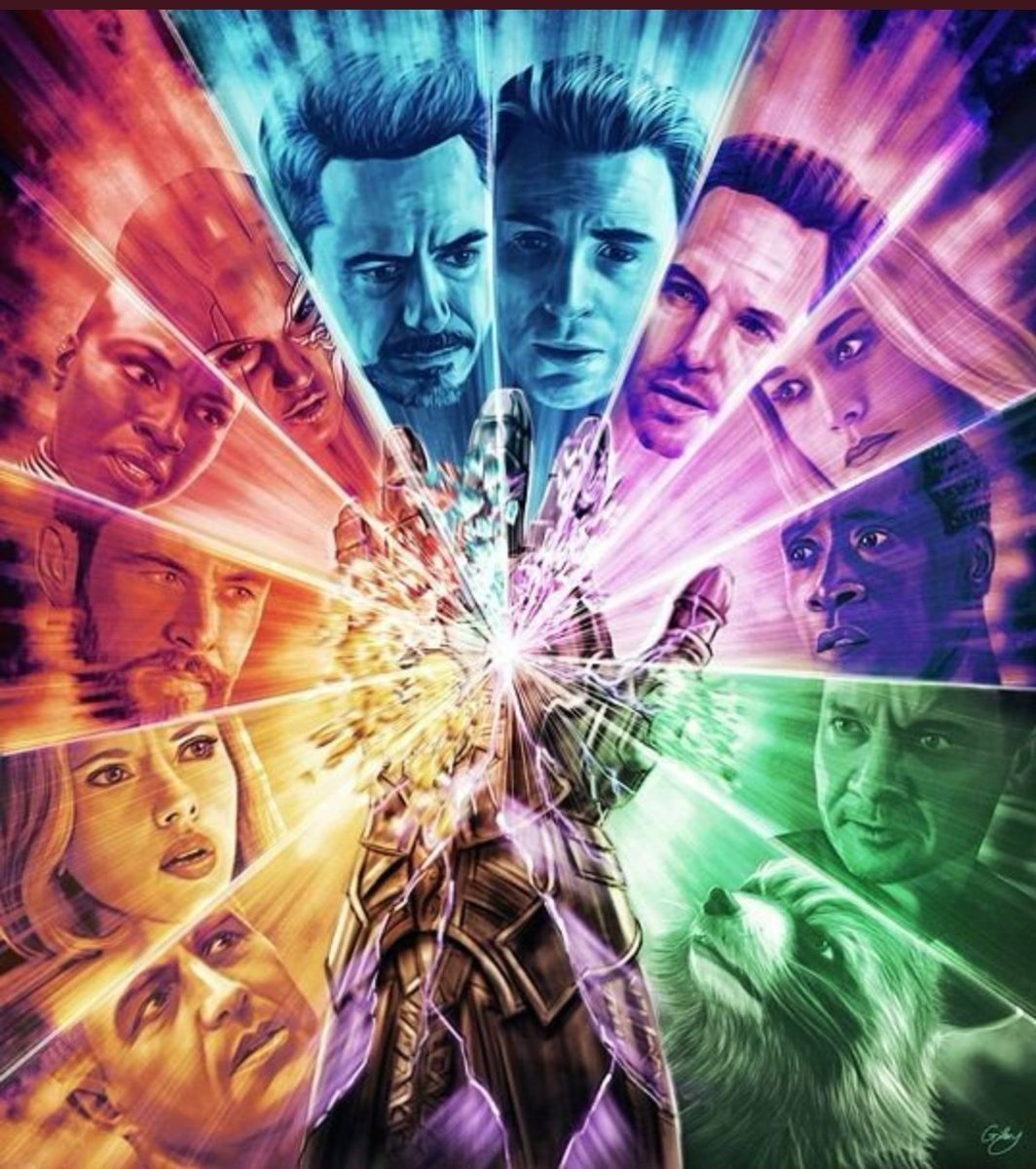 I've always thought why every hero fought individually with Thanos in #AvengersEndGame. Ok I understand that they wanted to make Tony the hero apparently but Avengers do it 'together' right? What if every hero who can give out energy through hands (Continued) <br>http://pic.twitter.com/Q1n64xo52C