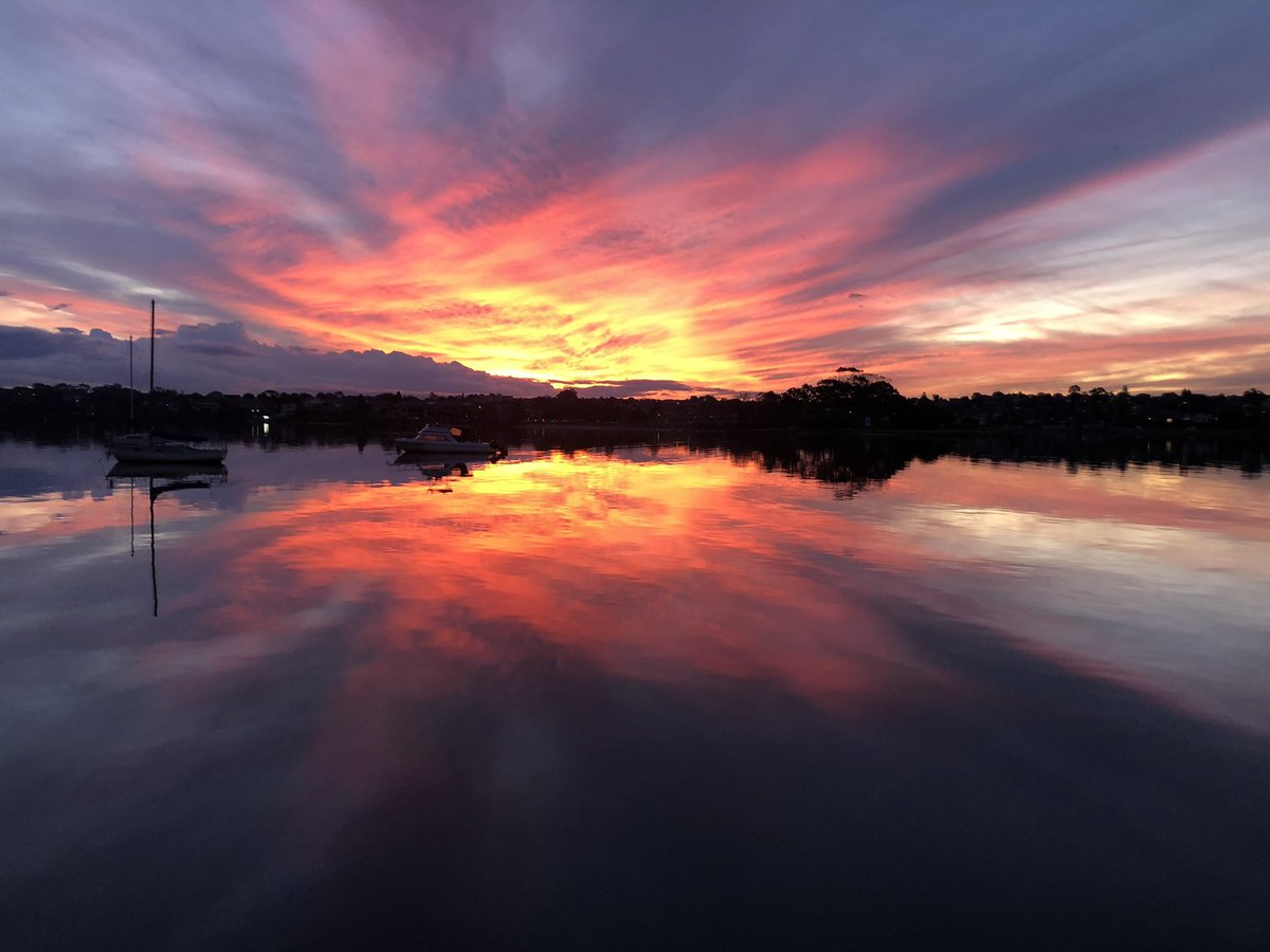 #Sydney mid-winter sunset