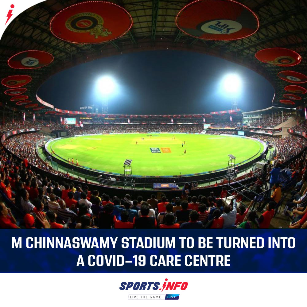 As per the latest report from the  Karnataka's Chief Minister's Office, the RCB's homeground will be served for the purpose.  .  . . #IPL2020 #RCB #TeamIndia #COVID19 #IndiaFightsCoronavirus #SportsDotInfo #coronavirus<br>http://pic.twitter.com/gDMe932YbA