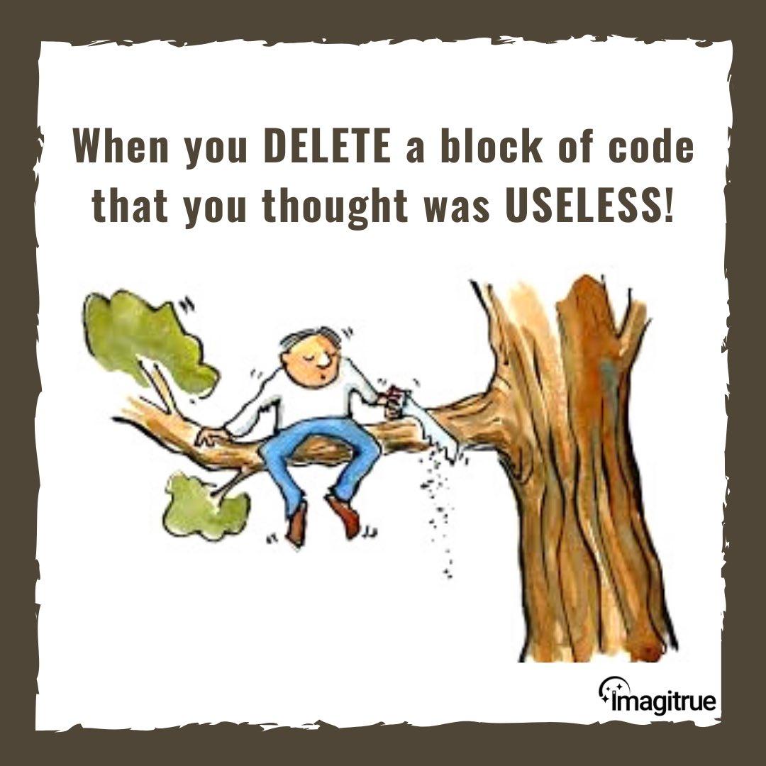 Programmers Life code, debug and go through thousands of code trying to fix a problem.  #fridayjokes #fridayfun #programmer #coding #debugging #technology #webdesigner #webdeveloper #digitalmarketing #imagitrue https://t.co/OtOqcjLJLb