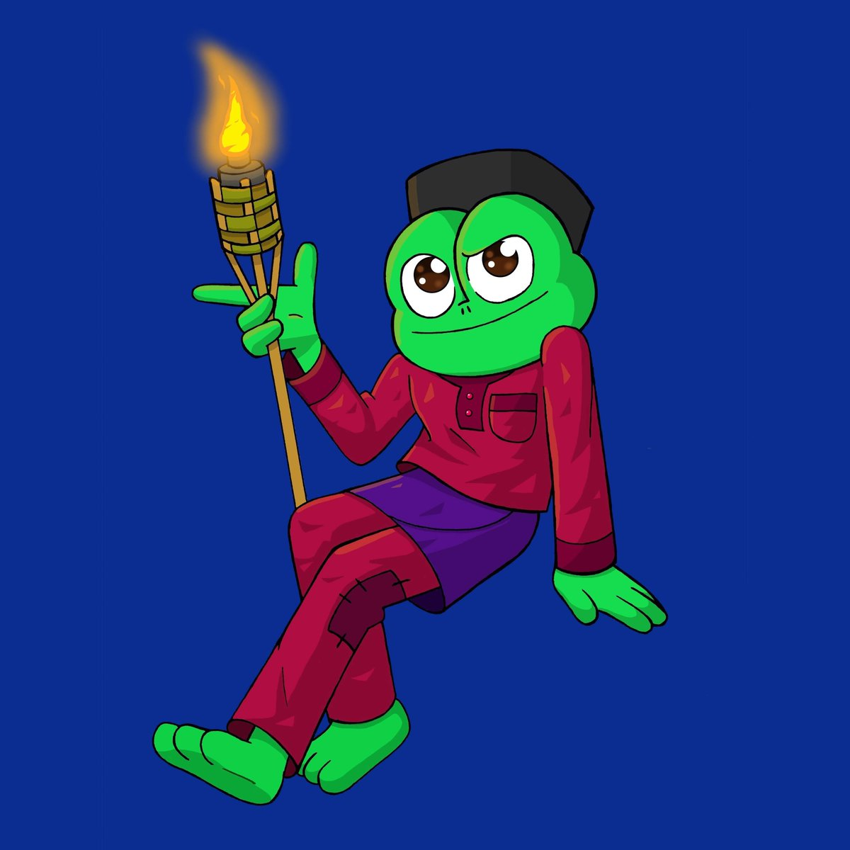 I just want to post something. :) #draw #art #ArtistOnTwitter #EidMubarak #FrogFriday #frog<br>http://pic.twitter.com/JnAHnV8FEE