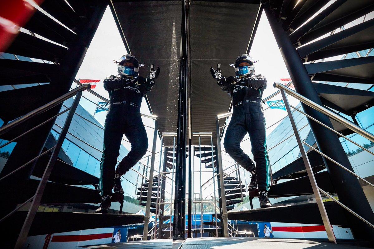 Qualifying day 👊  #VB77 #AustrianGP  @MercedesAMGF1 @F1  📸 Etherington https://t.co/hpd27JFfRZ