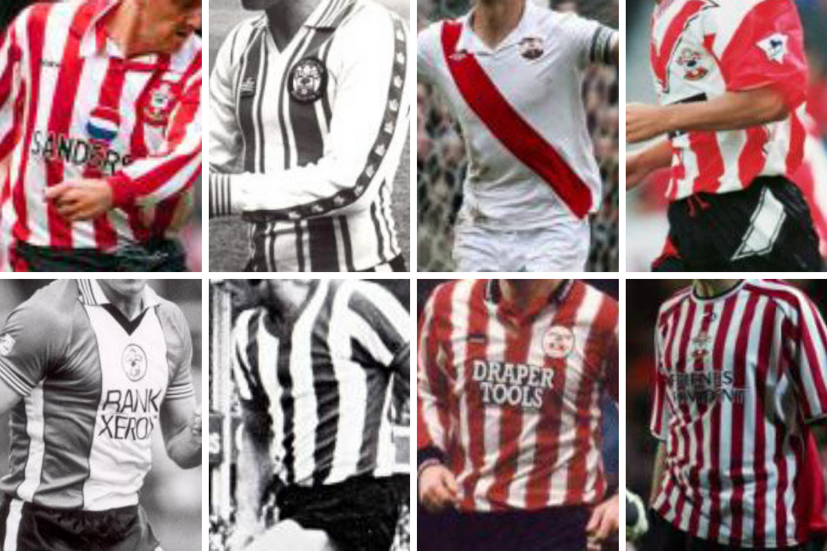 [Southampton FC] Saints FC shirts - ten of the best https://t.co/xtelCwE5dX https://t.co/1tLlv8FnjM